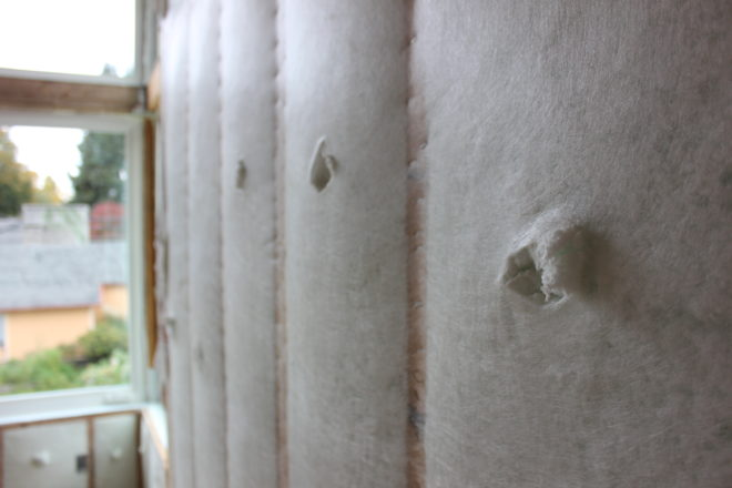 Behind The Walls Blown In Insulation Everett Custom Homes