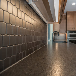 Ann Sacks Tile Backsplash - Everett Custom Homes Modern Collection