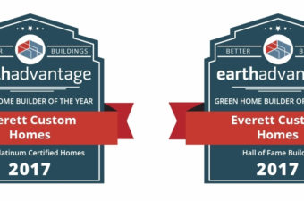 Earth Advantage 2017 Builder Award